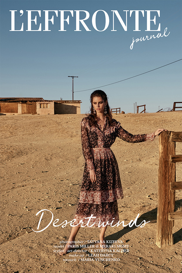 Desert Winds for L'EFFRONTE Journal